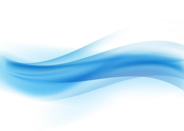 Diseño abstracto de las olas