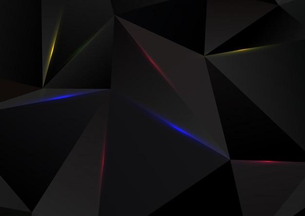 Diseño abstracto bajo poli