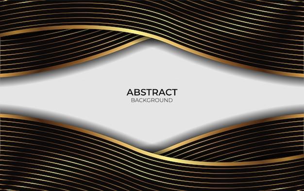 Diseño abstracto de presentación de fondo de lujo