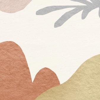 Diseño abstracto del tono de la tierra del fondo