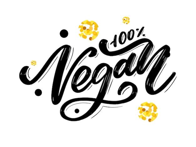 Diseño de alimentos de ilustración vectorial letras escritas a mano para elementos de vector de menú de cafetería de restaurante