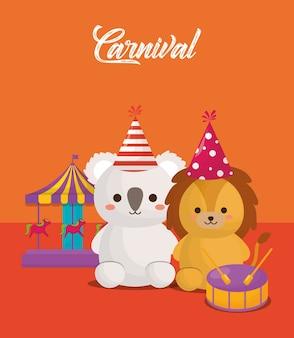 Diseño de animales de circo