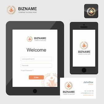 Diseño de aplicación de la compañía