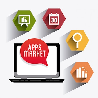 Diseño de aplicaciones móviles.