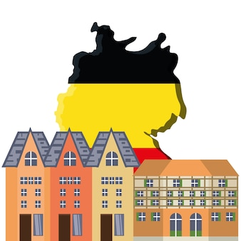 Diseño de arquitectura alemana