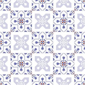 Diseño de azulejos decorativos