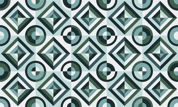 Diseño de azulejos. ilustración vectorial patrón de piso. elementos decorativos vintage. perfecto para imprimir en papel o tela.