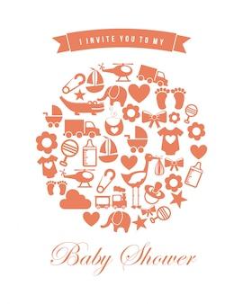 Diseño de baby shower