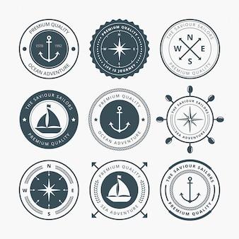 Diseño de badges náuticos