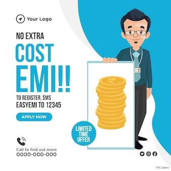 Diseño de banner sin costo adicional para emi