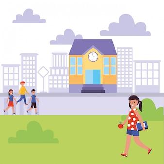 Diseño de banner escolar