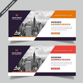 Diseño de banner de web de negocios