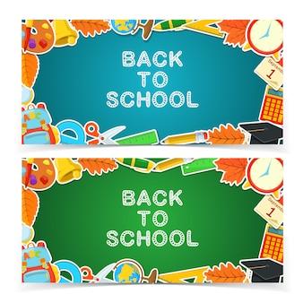 Diseño de banners educativos.