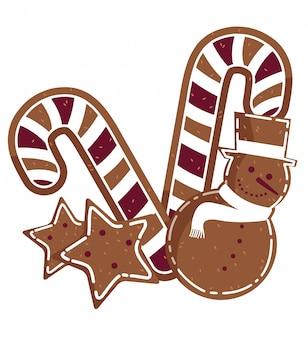 Diseño de bastones de caramelo
