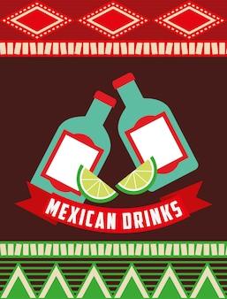 Diseño de bebidas mexicanas