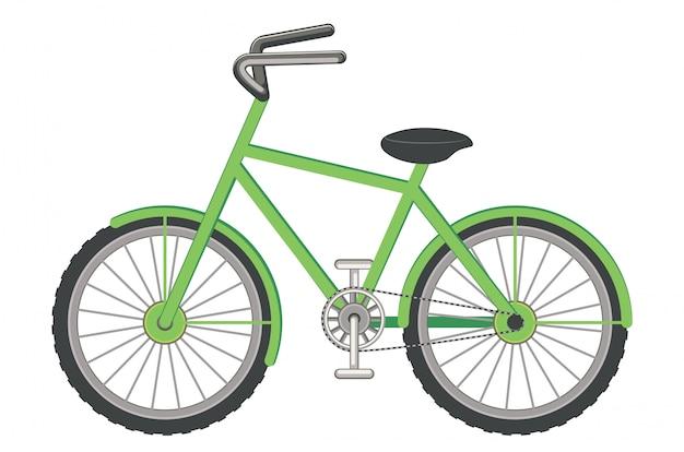 Diseño de bicicleta de dibujos animados