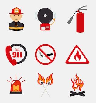 Diseño de bombero