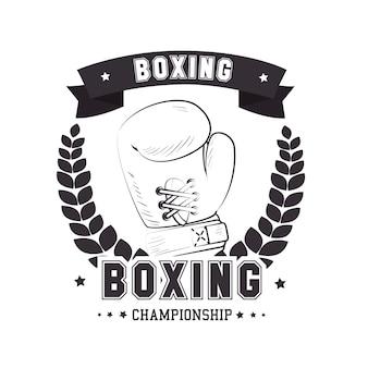 Diseño de boxeo.