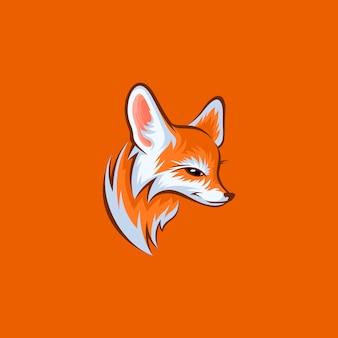 Diseño de cabeza de zorro
