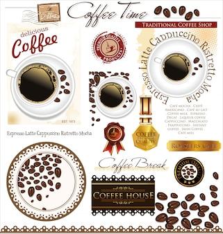Diseño de café y té