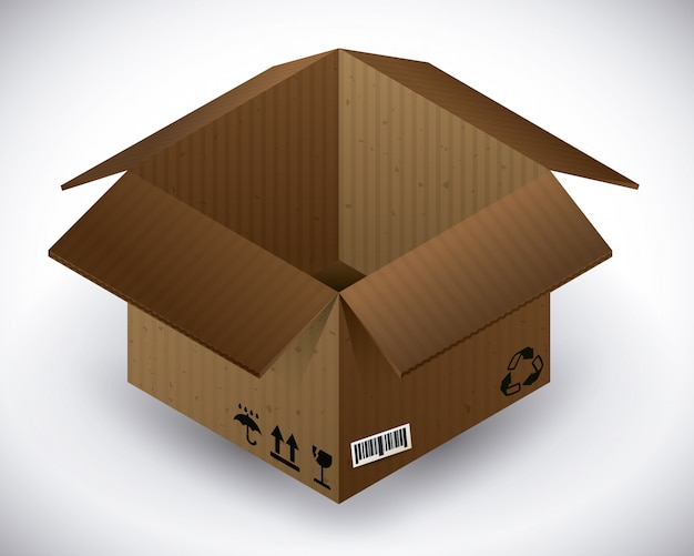 Diseño de la caja de entrega.