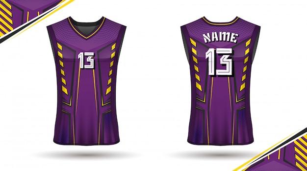 Diseño de camiseta de baloncesto.