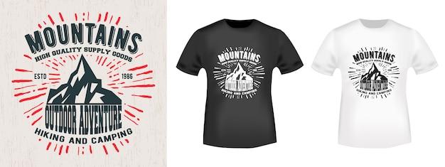 Diseño de camiseta de impresión