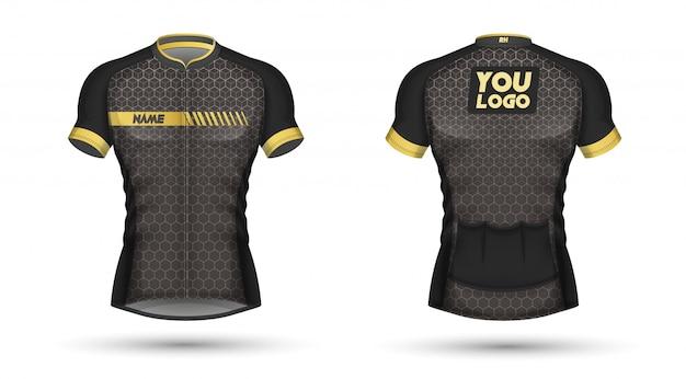 Diseño de camiseta de jersey de ciclo