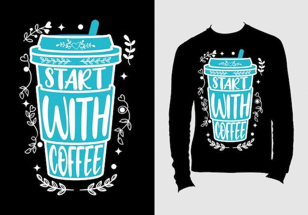 Diseño de camiseta con el texto