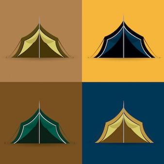 Diseño de camping.
