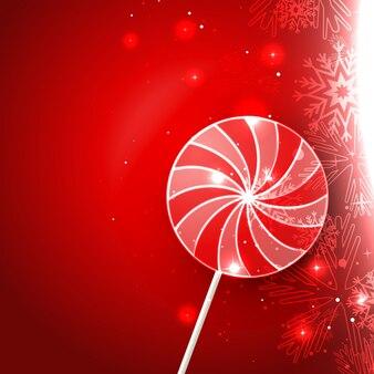 Diseño de caramelo lollipop