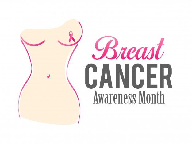 Diseño del cartel de la conciencia del cáncer de pecho del vector