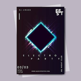 Diseño de cartel de evento