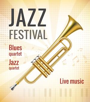 Diseño de cartel de festival de música