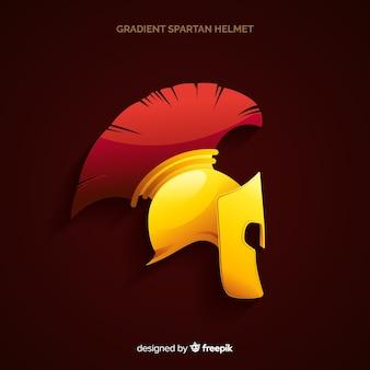 Diseño de casco espartano