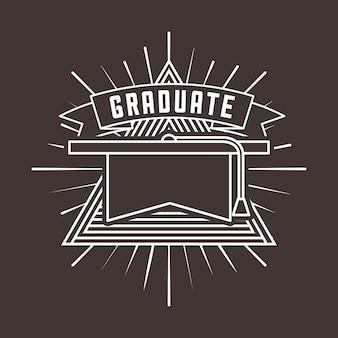 Diseño de celebración de graduación