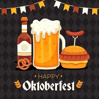 Diseño de celebración oktoberfest