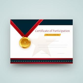 Diseño de certificado.