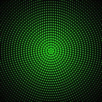 Diseño circular de semitono abstracto del fondo del punto