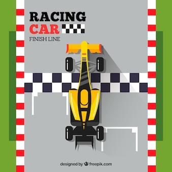 Diseño de coche de carreras