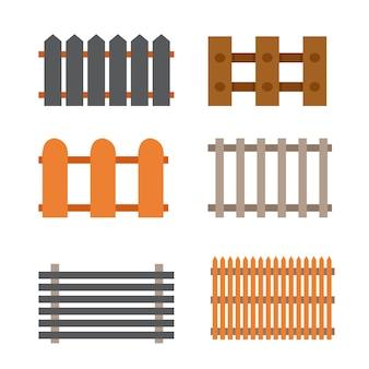 Diseño de la colección de la cerca