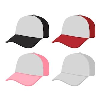 Diseño de colección de gorras.