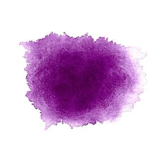 Diseño de color de agua púrpura