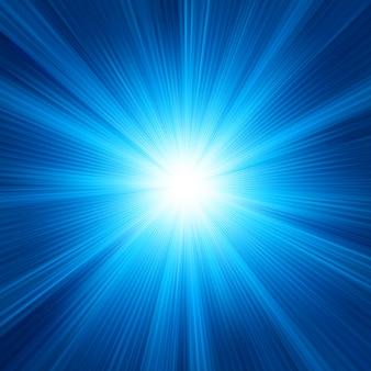 Diseño de color azul con una explosión. archivo incluido