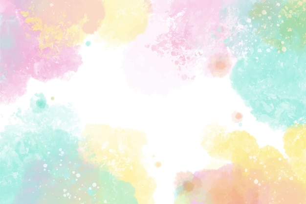 Diseño colorido de fondo acuarela