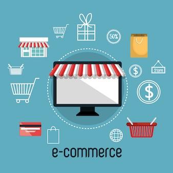 Diseño de comercio electrónico