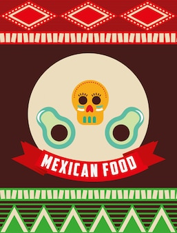 Diseño de comida mexicana