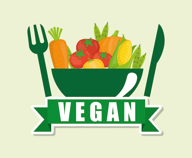 Diseño de comida vegana