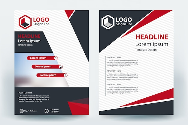 Diseño de concepto de banner de volante empresarial corporativo de empresa