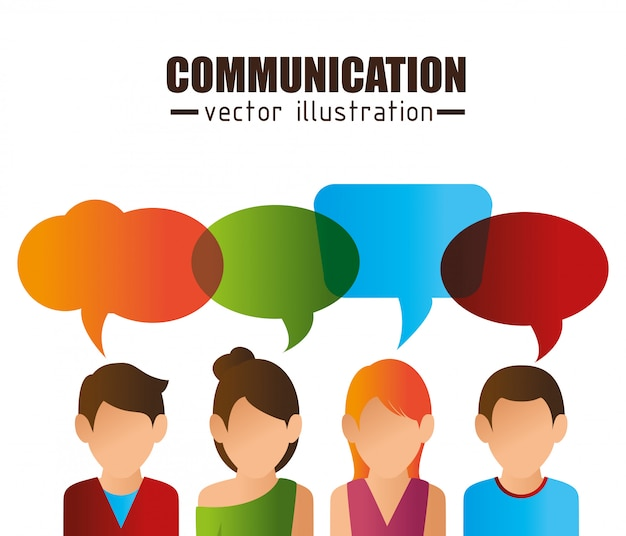 Diseño de concepto de comunicación